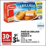Bon Plan Panés de Cabillaud Findus chez Auchan (14/08 - 21/08) - anti-crise.fr