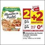 Bon Plan Allumettes de Poulet Fleury Michon chez Casino (28/08 - 09/09) - anti-crise.fr