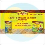 Offre de Remboursement Old El Paso : Chips Remboursées pour l'Achat d'un Kit - anti-crise.fr