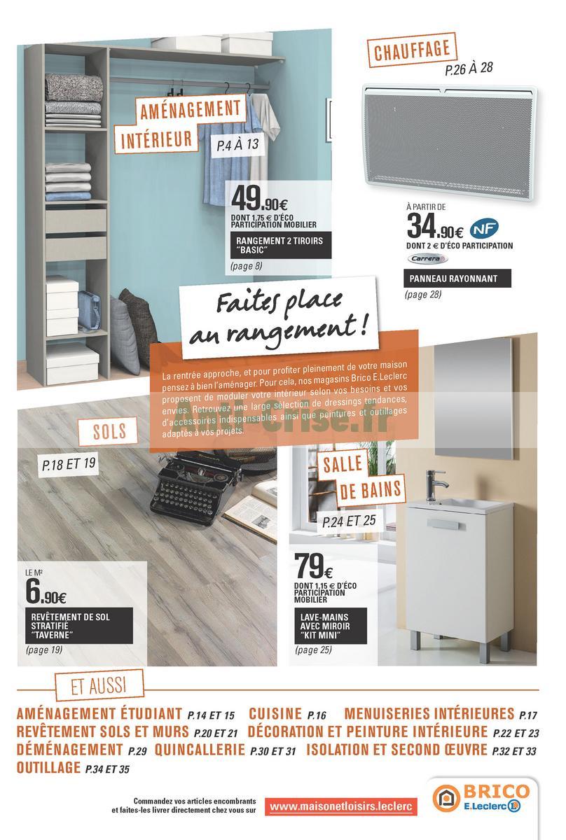 leclerc bricolage catalogue. Black Bedroom Furniture Sets. Home Design Ideas