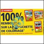 Offre de Remboursement Stabilo : 2ème Pochette de Coloriage 100% Remboursée - anti-crise.fr