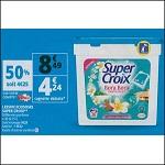 Bon Plan Lessive Super Croix Caps chez Auchan (07/08 - 13/08) - anti-crise.fr