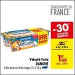 Bon Plan Yaourts Velouté Fruix chez Carrefour (14/08 - 27/08) - anti-crise.fr