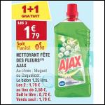 Bon Plan Nettoyant Fête des Fleurs Ajax chez Atac (05/09 - 10/09) - anti-crise.fr