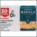 Bon Plan Pâtes Barilla Academia chez Auchan (26/09 - 02/10) - anti-crise.fr