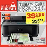 Catalogue Alpes Bureau du 30 septembre au 20 octobre 2018