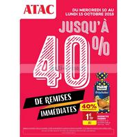 Catalogue Atac du 10 au 15 octobre 2018