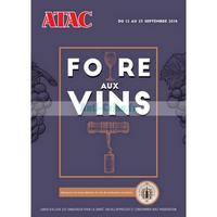 Catalogue Atac du 12 au 23 septembre 2018 (Foire aux Vins)