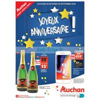 Catalogue Auchan du 18 au 25 septembre 2018 (St Genis Laval)