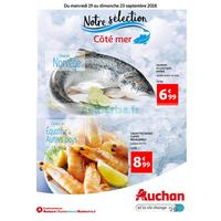 Catalogue Auchan du 19 au 23 septembre 2018 (Chambray)
