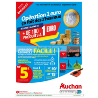 Catalogue Auchan du 19 au 25 septembre 2018 (Bagnolet)