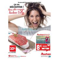 Catalogue Auchan du 19 au 25 septembre 2018 (Cergy)