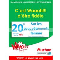 Catalogue Auchan du 19 au 25 septembre 2018 (La Seyne Sur Mer)