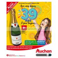 Catalogue Auchan du 19 au 25 septembre 2018 (Nice Côte d'Azur)