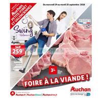 Catalogue Auchan du 19 au 25 septembre 2018 (P. Forêt Valenciennes)