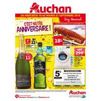 Catalogue Auchan du 19 au 25 septembre 2018 (Viry-Noureuil)