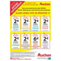 Catalogue Auchan du 1er au 30 septembre 2018 (Châteauroux)