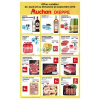 Catalogue Auchan du 20 au 23 septembre 2018 (Dieppe)