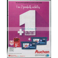 Catalogue Auchan du 26 septembre au 2 octobre 2018