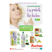 Catalogue Auchan du 26 septembre au 2 octobre 2018 (Centre-Est Bio)
