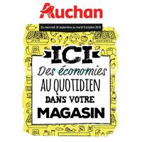 Catalogue Auchan du 26 septembre au 9 octobre 2018 (Economies)