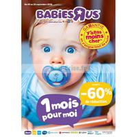Catalogue Babies R Us du 5 au 23 septembre 2018