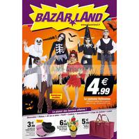 Catalogue Bazarland du 10 au 31 octobre 2018