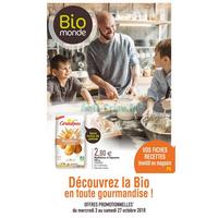Catalogue Bio Monde du 3 au 27 octobre 2018