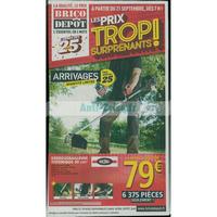Catalogue Brico Dépôt du 21 septembre au 4 octobre 2018
