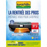 Catalogue Bureau Vallée du 10 au 29 septembre 2018