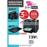 Catalogue Calipage du 3 septembre au 31 décembre 2018