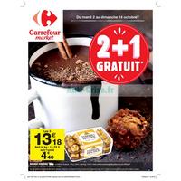Catalogue Carrefour Market du 2 au 14 octobre 2018
