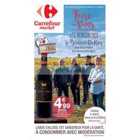 Catalogue Carrefour Market du 28 septembre au 14 octobre 2018 (Foire aux Vins)