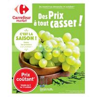 Catalogue Carrefour Market du 9 au 14 octobre 2018