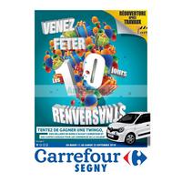 Catalogue Carrefour du 11 au 22 septembre 2018 (Segny)