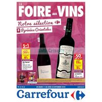Catalogue Carrefour du 11 au 24 septembre 2018 (Pyrénées-Orientales)