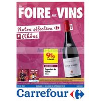 Catalogue Carrefour du 11 au 24 septembre 2018 (Rhône)