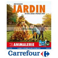Catalogue Carrefour du 18 septembre au 8 octobre 2018 (Jardin & Animaux)