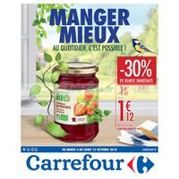 Catalogue Carrefour du 2 au 15 octobre 2018 (Bio)
