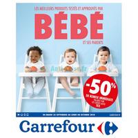 Catalogue Carrefour du 25 septembre au 8 octobre 2018 (Puériculture)