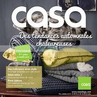 Catalogue Casa du 1er au 28 octobre 2018