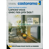 Catalogue Castorama du 26 septembre au 15 octobre 2018