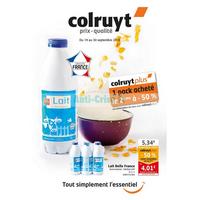 Catalogue Colruyt du 19 au 30 septembre 2018