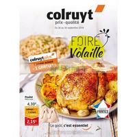 Catalogue Colruyt du 26 au 30 septembre 2018