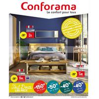 Catalogue Conforama du 2 au 22 octobre 2018
