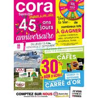 Catalogue Cora du 13 au 21 septembre 2018 (Saint-Dié)