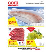 Catalogue Cora du 18 au 22 septembre 2018 (Dept 57 Frais)
