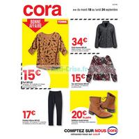 Catalogue Cora du 18 au 24 septembre 2018 (Alsace)