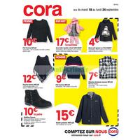 Catalogue Cora du 18 au 24 septembre 2018 (Centre-Est)