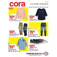 Catalogue Cora du 18 au 24 septembre 2018 (Champagne)